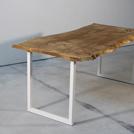 essence-bois-table-sur-mesure-live-edge-Salvateur-chataignier-noir-blanc-4