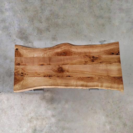 essence-de-bois-table-sur-mesure-live-edge-Salvateur-frêne-naturel-2